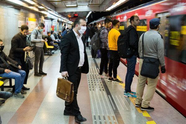 ماسک در کدام ایستگاه های مترو فروخته می گردد؟
