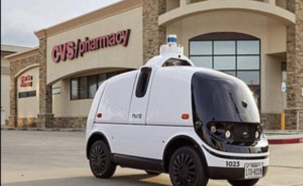 ارسال دارو به مشتریان توسط خودروهای خودران دارو