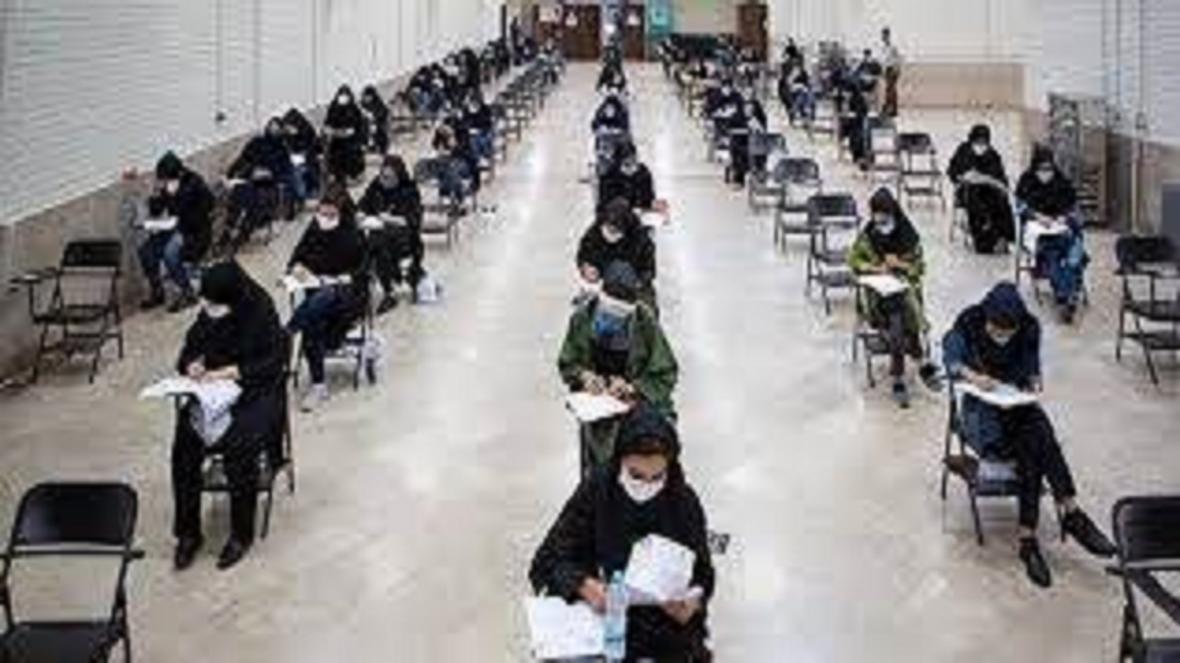 بازدید فرماندار تبریز از فرایند برگزاری کنکور 99 در دانشگاه تبریز