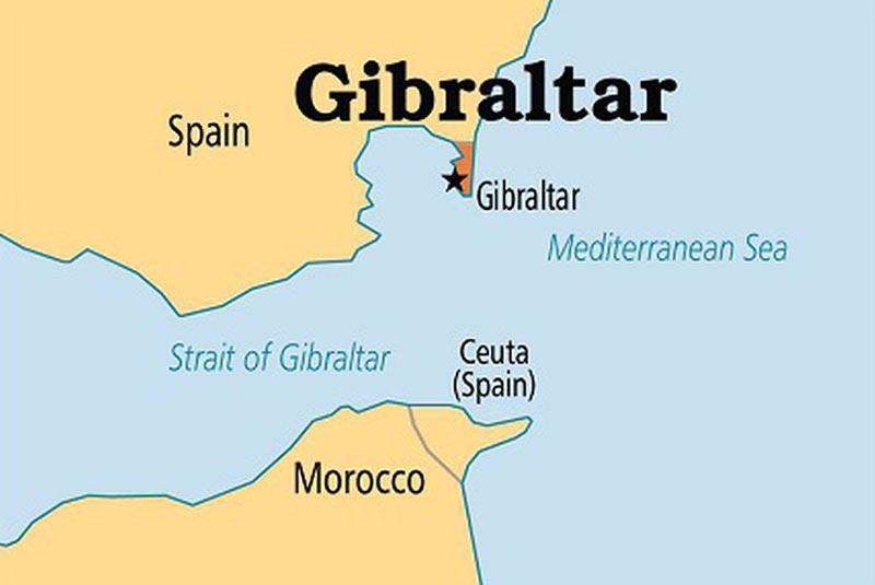 تنگه جبل الطارق کجاست؟
