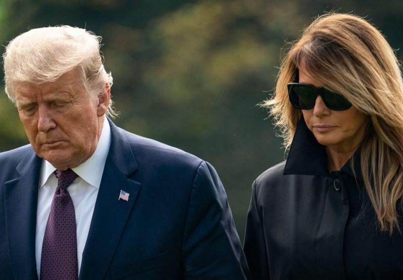 احتمال بازگشت کرونا به همسر ترامپ