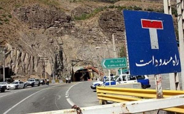 اعلام وضع ترافیکی جاده ها؛ محور هراز همچنان مسدود است