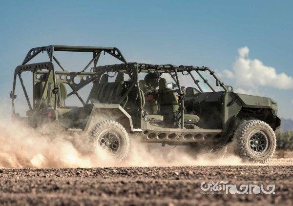 جنرال موتورز یک جنگنده زمینی نو برای ارتش آمریکا می سازد